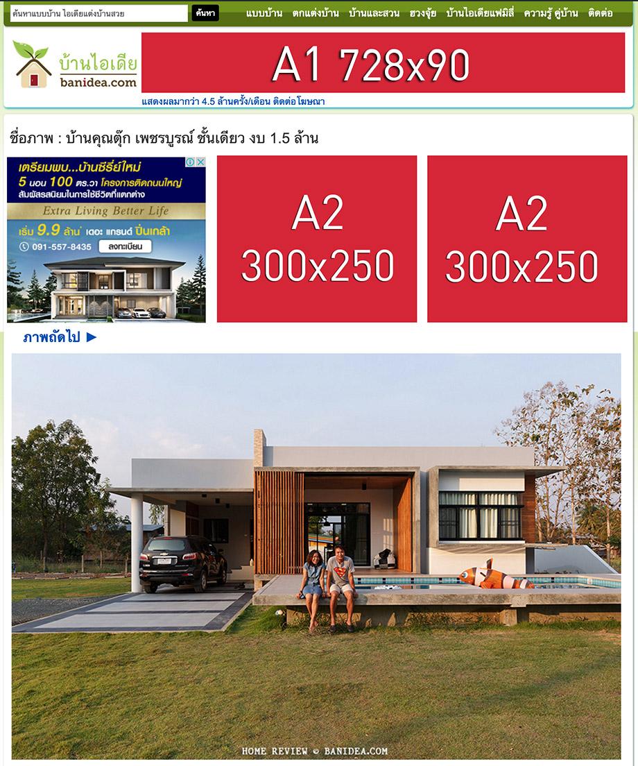 ตัวอย่างโฆษณา หน้าอัลบั้มภาพ