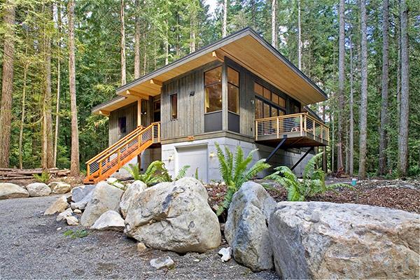 แบบบ้านไม้ 2 ชั้น