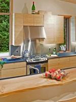 แบบบ้านไม้ 2 ชั้น ห้องครัว