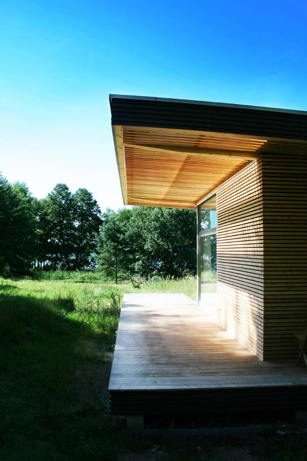 ออกแบบบ้านไม้ หลังเล็ก house-wood-design