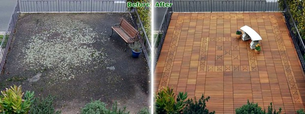 Decking Tile Terrace