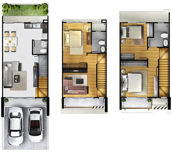 บ้านเดี่ยว 3 ชั้น