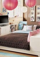 แบบห้องนอน สีชมพู