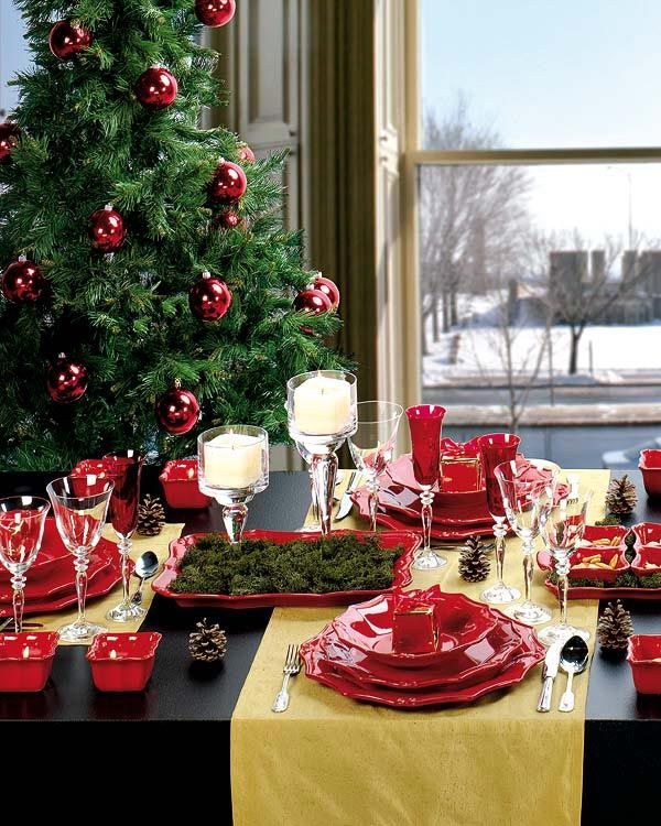 แบบไอเดีย โต๊ะรับประทานอาหาร table-Interiors-ideas
