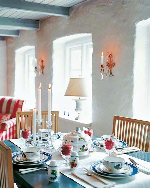 แบบโต๊ะอาหาร table-Decoration-ideas