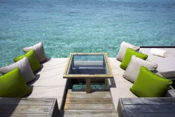 สร้างบ้านกลางทะเล