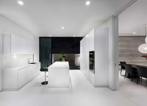 ออกแบบบ้าน โทนสี ขาวดำ