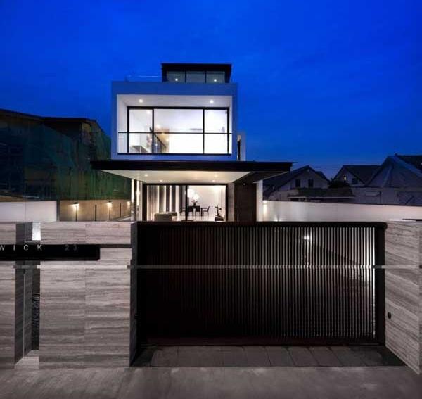 ออกแบบทาวน์โฮม 3 ชั้น townhouse-design-plan