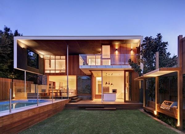 ออกแบบบ้านไม้ 2 ชั้น