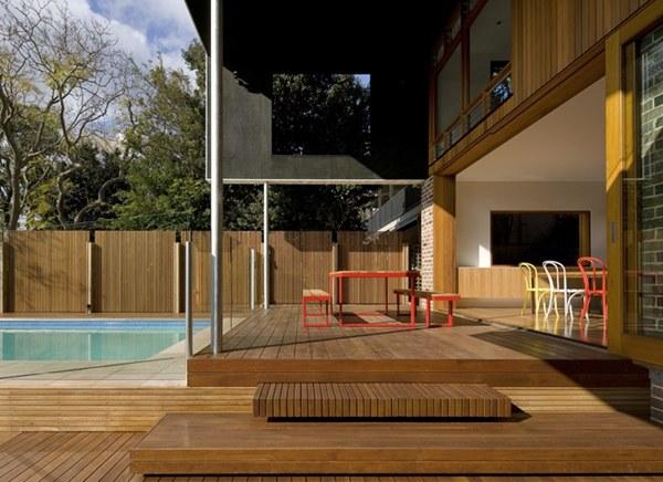 ออกแบบระแนงไม้ ตกแต่งบ้าน