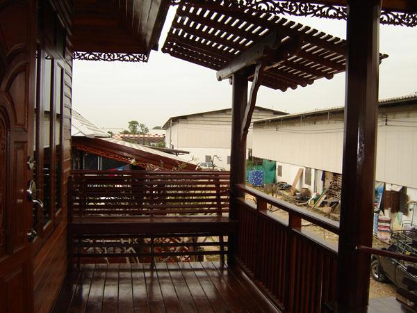 แบบบ้านไม้ เรือนไทยประยุกต์