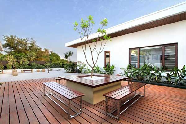 for Terrazas modernas en segundo piso