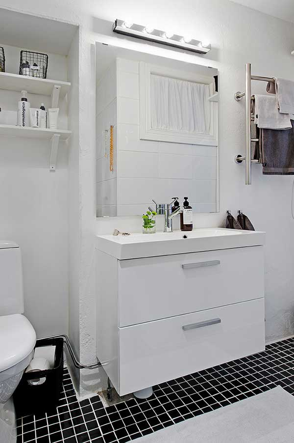 โต๊ะเครื่องแป้ง ห้องแต่งตัว สีขาว สไตล์วินเทจ Contemporary