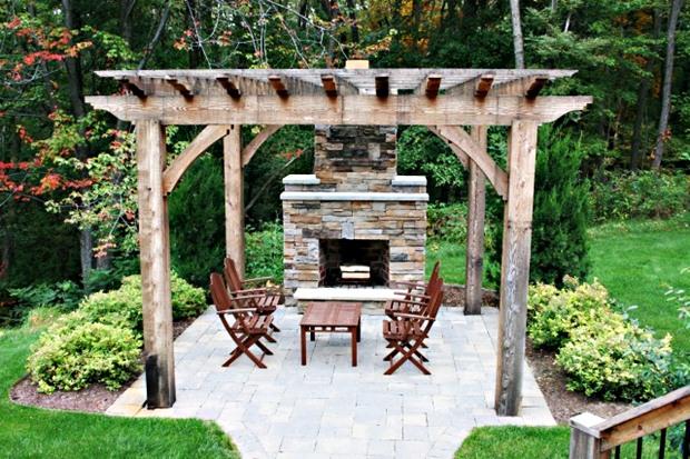 จัดสวนสวยๆ ด้วยไม้ระแนง