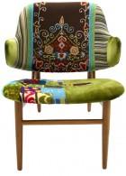 เก้าอี้ ไม้ เขียนหนังสือ สวยๆ สีเขียว
