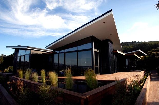 บ้านกระจก แบบบ้าน สไตล์ นิวซีแลนด์
