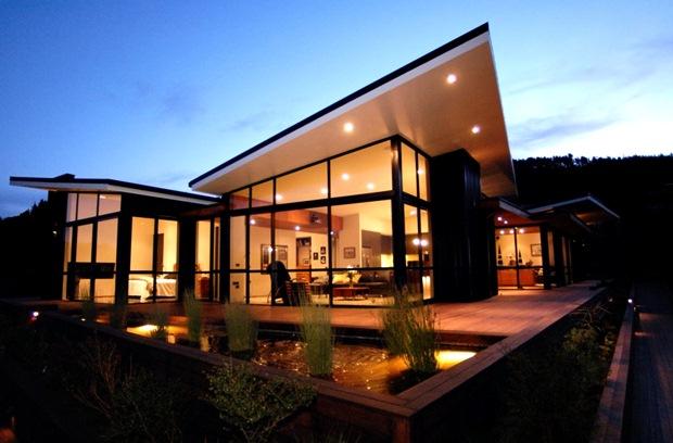 บ้านกระจก บ้านสวย ในประเทศ นิวซีแลนด์