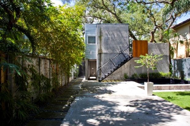 สร้างบ้าน แบบบ้าน ใต้ต้นไม้ สไตล์โมเดิร์น