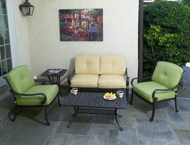 ชุดเฟอร์นิเจอร์ ห้องนั่งเล่น กลางแจ้ง outdoor furniture garden