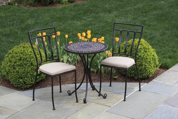 แบบสวนนั่งเล่น เก้าอี้ โต๊ะ สนาม อลูมิเนียม กลางแจ้ง