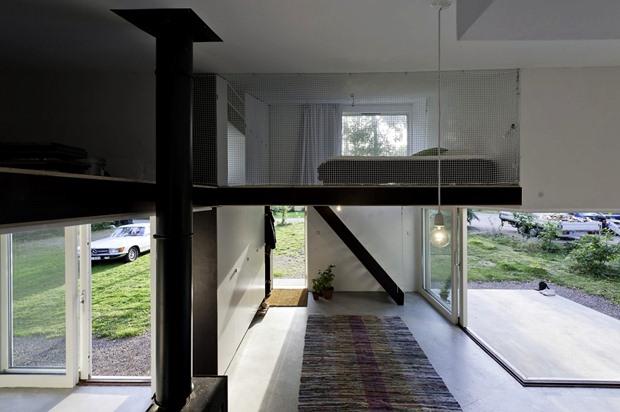 แบบห้องนอนใต้หลังคา ห้องนอนชั้นลอย