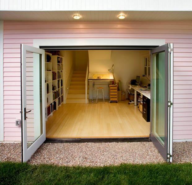 ประตูบ้าน แบบเปิดกว้าง 3 บาน