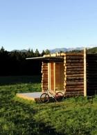 บ้านไม้ขนาดเล็ก สไตล์ลูกทุ่ง