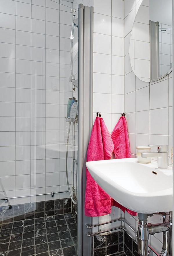 อ่างล้างหน้า แต่งห้องน้ำขนาดเล็ก คอนโด