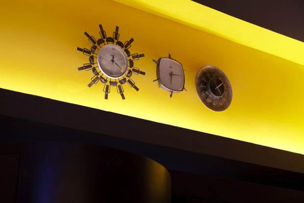 นาฬิกาติดฝาผนัง แบบ สมอเรือ เข็มทิศ