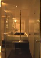 กระจกห้องน้ำ จัดแสงไฟในห้องน้ำ โรแมนติก