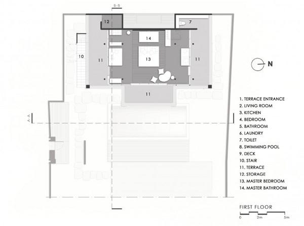 แปลนบ้านสวยๆ ฟรี 2 ชั้น สไตล์โมเดิร์น