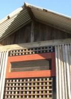 ระแนงไม้ ทำผนังบ้านไม้