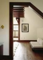 วงกบประตูบ้านไม้ แบบไม่มีประตู