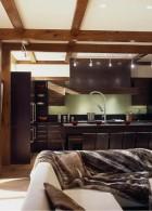 แบบห้องครัว บ้านไม้ ตกแต่งสไตล์เอเชีย