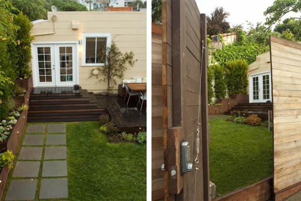 แบบประตูไม้ รั้วบ้านไม้ ป้องกันความปลอดภัย