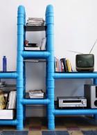 DIY เฟอร์นิเจอร์ ตู้โชว์ ชั้นวางของ ด้วยท่อน้ำ PVC