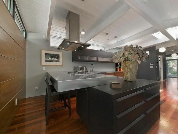 แบบห้องครัว ตกแต่งสไตล์โมเดิร์น ดูสะอาดตา