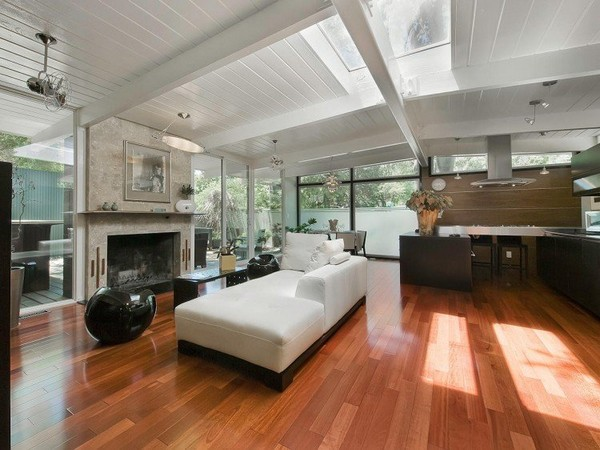 พื้นไม้สำเร็จรูป ตกแต่งพื้นภายในบ้าน