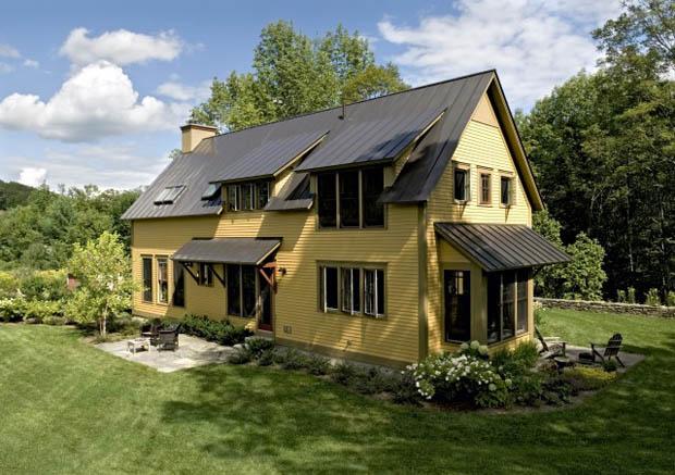 แบบบ้าน หลังคา หน้าจั่ว เปิดหลังคาสร้างเป็นหน้าต่าง
