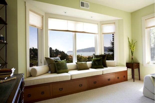 แบบหน้าต่าง สีขาว สไตล์วินเทจ ตกแต่งบ้านแนว วินเทจ