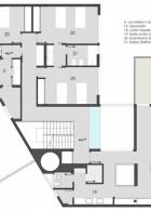 แปลนบ้าน 2 ชั้น สไตล์โมเดิร์น บ้านปูนสีขาว