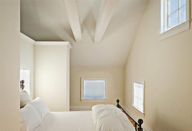 ห้องนอนสีขาว แบบห้องนอนสวย สบายตา