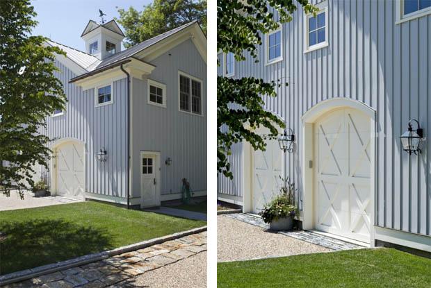 บ้านสวย สีฟ้า ขาว ตกแต่งอย่างคลาสสิค