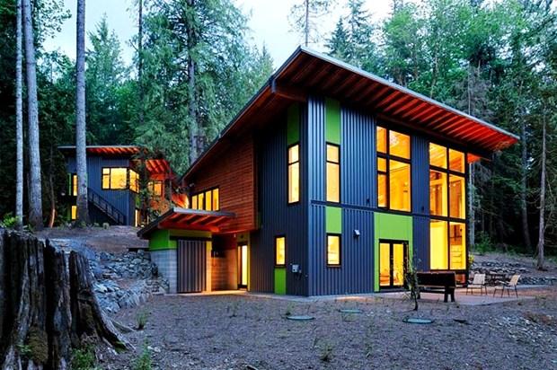 แบบบ้านบังกะโล สองชั้น สวยๆ