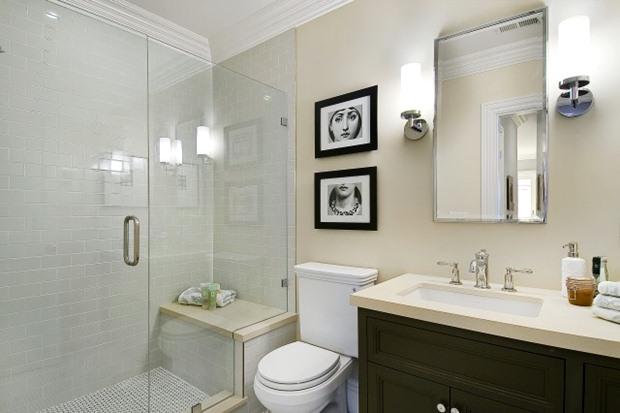 แบบห้องน้ำ ตกแต่งห้องน้ำขนาดเล็ก จำกัดพื้นที่