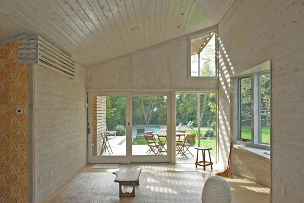 สร้างบ้านไม้ หลังเล็กๆ สไตล์คันทรี่