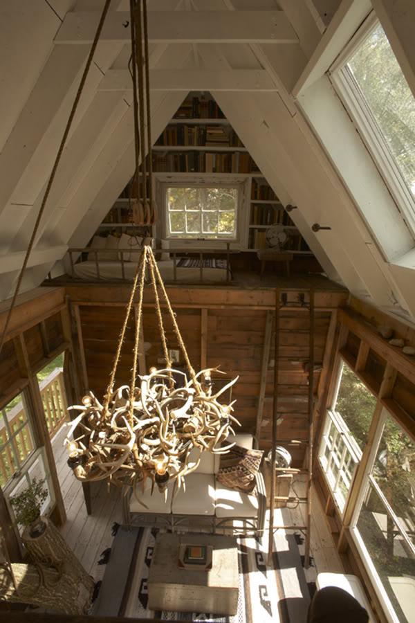 โครงสร้างหลังคาหน้าจั่ว บ้านไม้ขนาดเล็ก