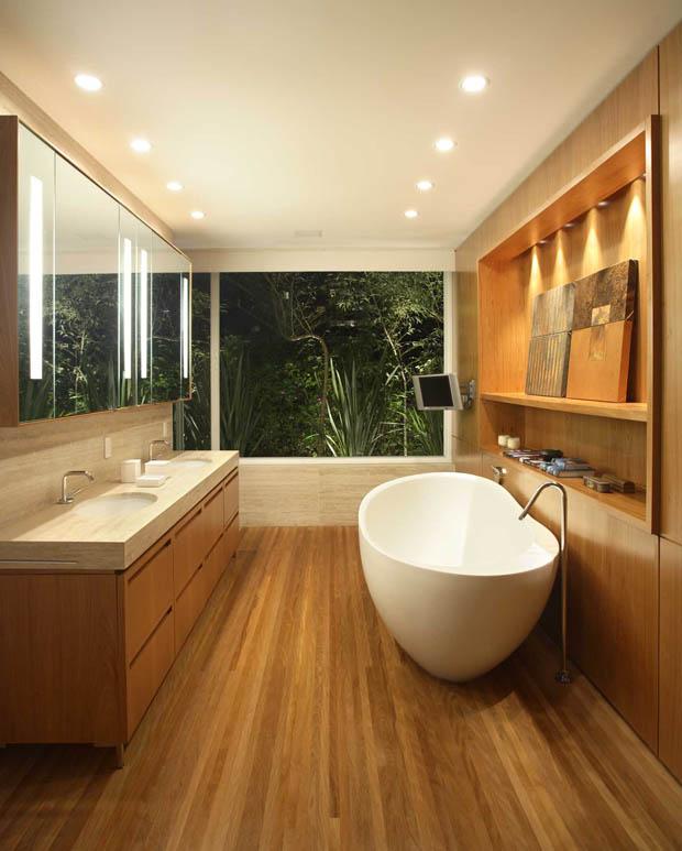 แบบห้องอาบน้ำ ตกแต่งหรู สบาย