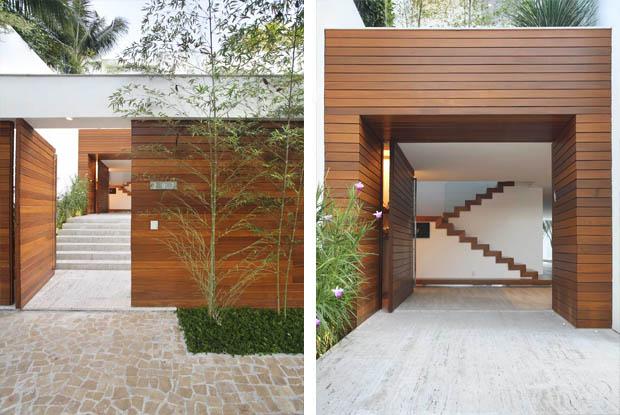 แบบประตูรั้วไม้ หน้าบ้าน
