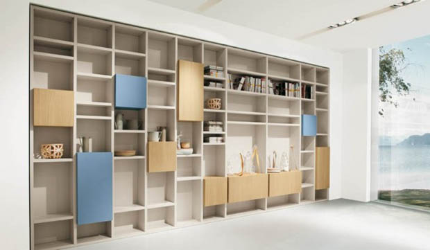 Shelves-Blue-and-Wood